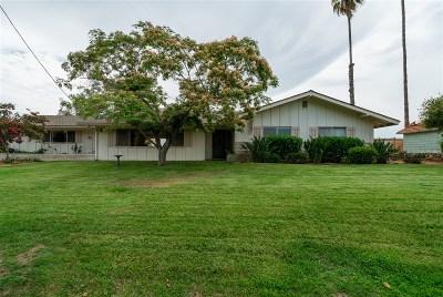 Escondido Single Family Home For Sale: 2223 Cranston Dr