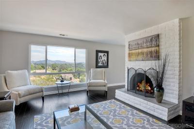 Escondido Single Family Home For Sale: 10045 Vista Montanoso