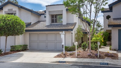 San Diego Townhouse For Sale: 6355 Caminito Del Cervato