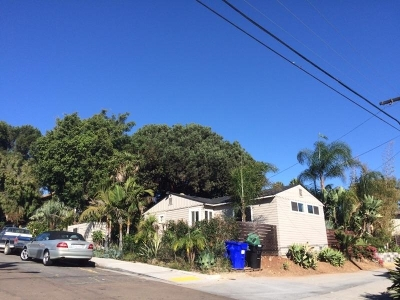 San Diego Multi Family 2-4 For Sale: 5031-5033 71st St.