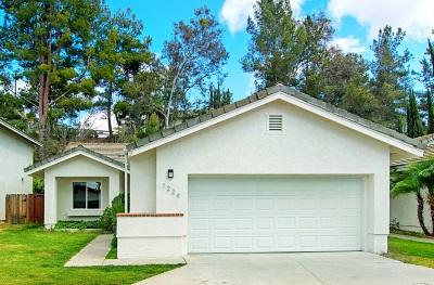 Escondido Single Family Home For Sale: 1224 Lancer Glen