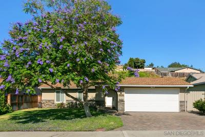 Poway Single Family Home For Sale: 14046 Olive Meadows Place