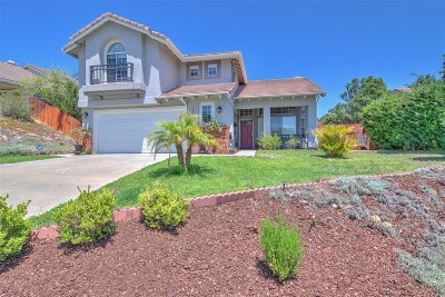 San Diego Single Family Home For Sale: 12265 Dormouse Rd