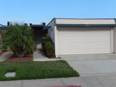San Diego Townhouse For Sale: 6961 Caminito Curva