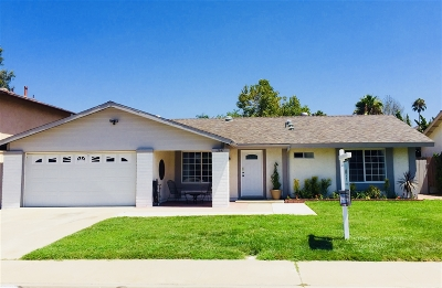 Poway Single Family Home For Sale: 12847 Reo Real Drive