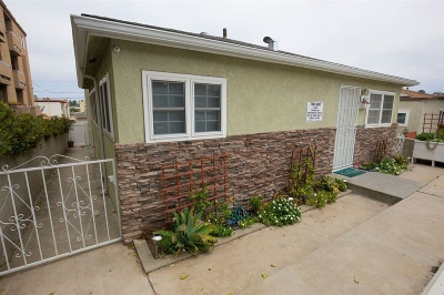 San Diego CA Multi Family 2-4 For Sale: $1,295,000