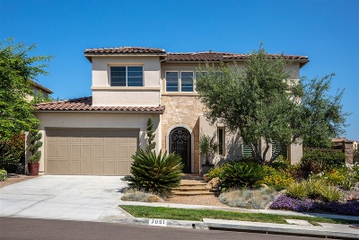 La Costa Oaks Single Family Home For Sale: 7091 Sitio Caliente