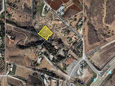 Bonsall Residential Lots & Land For Sale: Mission Road
