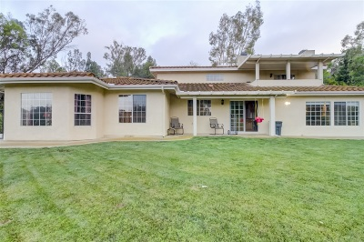 Vista Single Family Home For Sale: 1834 Voluntary Rd