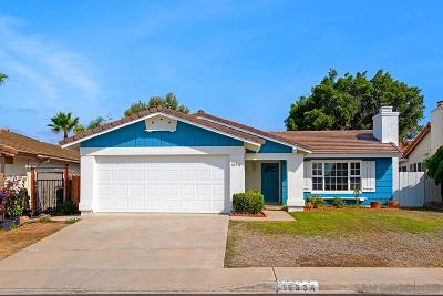 San Diego Single Family Home For Sale: 10334 Darden Rd