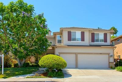 Carlsbad Single Family Home For Sale: 3443 Camino Corte