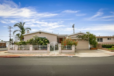 San Diego CA Single Family Home For Sale: $800,000