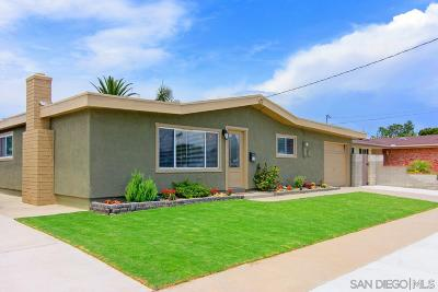 San Diego Single Family Home For Sale: 9128 Overton Ave