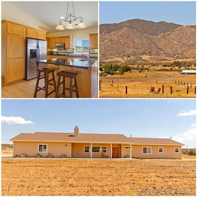 Single Family Home For Sale: 37443 Montezuma Valley Rd