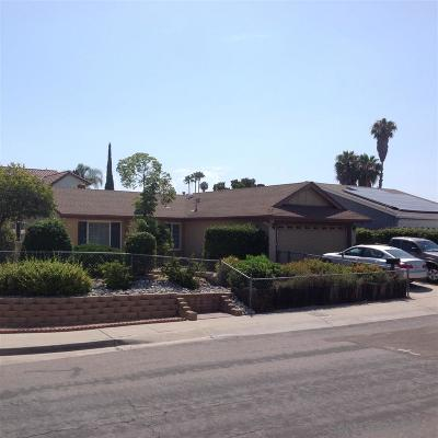 San Diego Single Family Home For Sale: 11303 Dalby Place