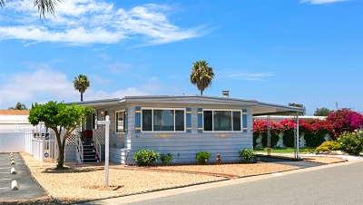 Oceanside CA Mobile/Manufactured For Sale: $210,000