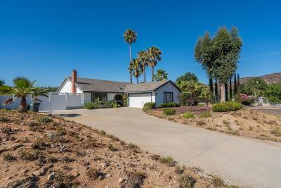 Ramona CA Single Family Home For Sale: $488,800