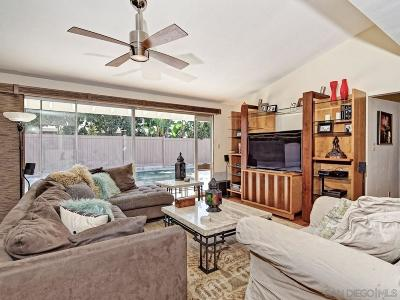 San Diego Single Family Home For Sale: 5309 Redding Rd