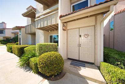 San Diego Townhouse For Sale: 6816 Caminito Montanoso #5