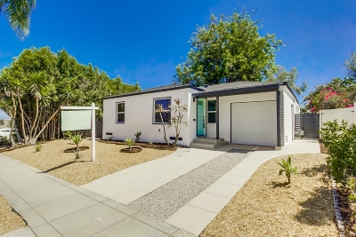 San Diego Single Family Home For Sale: 3631 Copley Ave