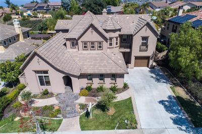 La Costa Oaks Single Family Home Sold: 7285 Calle Conifera
