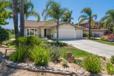 Ramona CA Single Family Home For Sale: $649,000