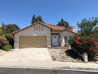 San Marcos Single Family Home Pending: 1316 Camino Del Sol