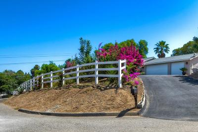 Fallbrook Single Family Home Contingent: 740 Kimble View