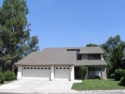 San Diego Single Family Home For Sale: 4664 Calle De Vida