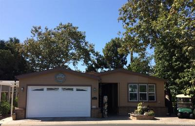 Carlsbad Mobile/Manufactured Pending: 5132 Don Rodolfo Drive