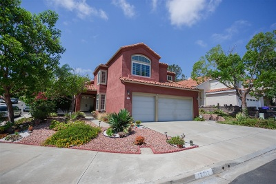 San Diego CA Single Family Home For Sale: $988,000