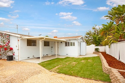 San Diego Single Family Home For Sale: 7192 Malta St