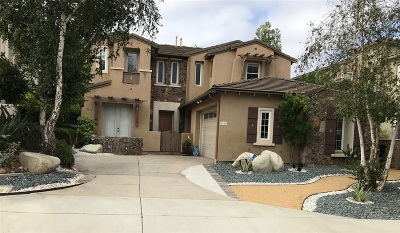 San Diego CA Single Family Home For Sale: $1,289,000