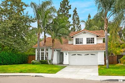 Encinitas Single Family Home For Sale: 1610 Willowhaven Rd