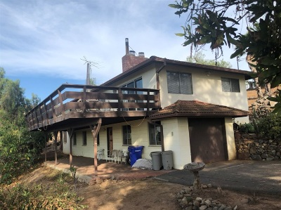 Vista Single Family Home For Sale: 1670 Lone Oak Rd