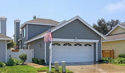 Carlsbad Single Family Home For Sale: 805 Windward Lane