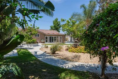 Bonita Single Family Home For Sale: 5560 San Miguel Rd