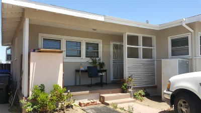 San Diego Single Family Home For Sale: 5174 Cervantes Ave
