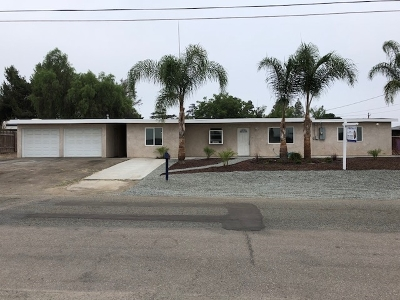 Single Family Home For Sale: Bakersfield St