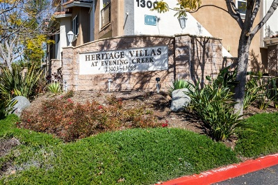 Townhouse For Sale: 13069 Evening Creek Dr #56