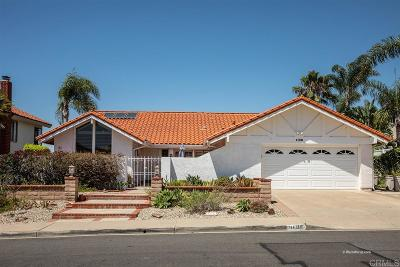 Solana Beach Single Family Home For Sale: 1108 Via Mil Cumbres