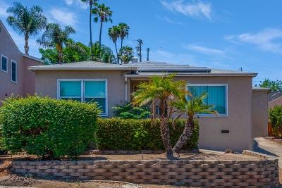 La Mesa Single Family Home For Sale: 4150 Massachusetts Ave