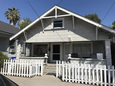 Mission Hills, Mission Hills/Hillcrest, Mission Valley Single Family Home For Sale: 3843 8th Ave
