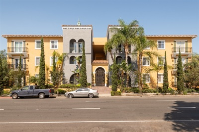 San Diego Attached For Sale: 4080 Front Street #204