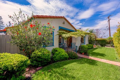 Norma Heights, Normal Heights Single Family Home For Sale: 5096 Mansfield Street