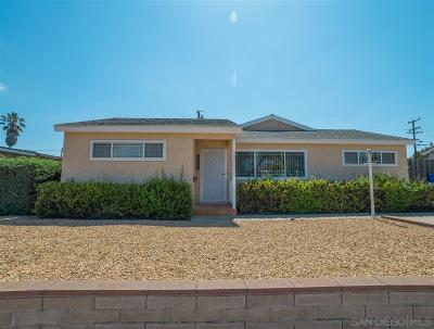 Clairemont Single Family Home For Sale: 4049 Epanow