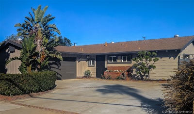 Clairemont, Clairemont Mesa, Clairemont Mesa East, Clairemont Unit 16, Clairmont Single Family Home For Sale: 3886 Mount Everest Blvd