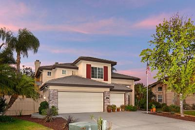 San Marcos Single Family Home Sold: 652 Larkspur Ct