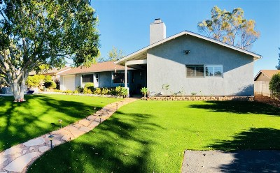 Vista Single Family Home For Sale: 1317 E Taylor St