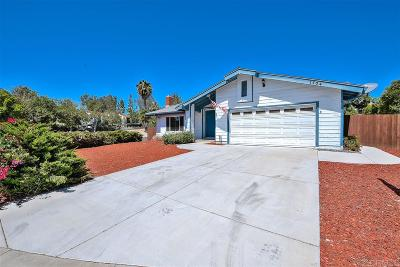 Vista Single Family Home For Sale: 1704 Panorama Rd.
